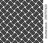 seamless black and white weave... | Shutterstock .eps vector #250757623