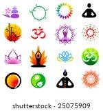 Vector Oriental Icons Set