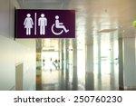 Toilets Icon. Public Restroom...