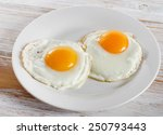 Two Fried Eggs For Healthy...