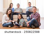 education and people concept.... | Shutterstock . vector #250822588