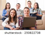 education and people concept.... | Shutterstock . vector #250822738