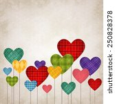vector illustration of colorful ... | Shutterstock .eps vector #250828378