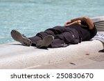 laying men | Shutterstock . vector #250830670