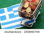 Shopping Cart Full Of Coins...