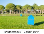 Marker At A Teeing Ground Of A...