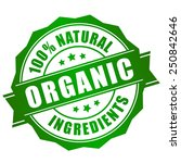 natural organic icon   Shutterstock .eps vector #250842646