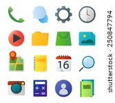 material standard icon set
