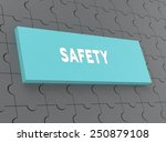 safety | Shutterstock . vector #250879108