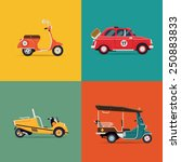 Vector Trendy Flat Design Icons ...