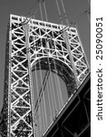 the george washington bridge... | Shutterstock . vector #25090051