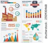 industrial info graphic design... | Shutterstock .eps vector #250930468