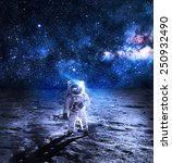 Astronaut Moon Elements Nasa - Fine Art prints