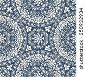 seamless oriental pattern. | Shutterstock .eps vector #250932934