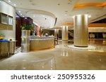 Stock photo luxury lobby interior 250955326