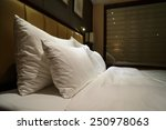 night scene in hotel room ... | Shutterstock . vector #250978063