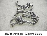 chain and hook | Shutterstock . vector #250981138
