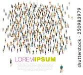 human infographics. vector... | Shutterstock .eps vector #250983979