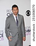 Small photo of LOS ANGELES, CA - JANUARY 7, 2015: Adam Sandler at the 2015 People's Choice Awards at the Nokia Theatre L.A. Live downtown Los Angeles.