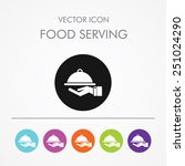 very useful icon of food... | Shutterstock .eps vector #251024290