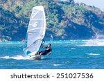 boracay island  philippines  ... | Shutterstock . vector #251027536