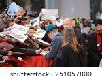 berlin   germany   february 8 ... | Shutterstock . vector #251057800