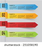 colorful modern text box... | Shutterstock .eps vector #251058190