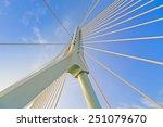 suspension bridge | Shutterstock . vector #251079670