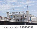 Brighton Beach  Great Britain ...