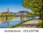 Beautiful View Of Salzburg...