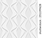 seamless damask pattern. vector ... | Shutterstock .eps vector #251199628