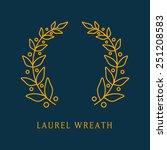 vector collection of laurels ... | Shutterstock .eps vector #251208583