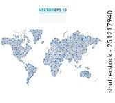 vector abstract... | Shutterstock .eps vector #251217940