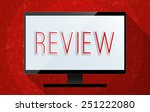 concept of critical review of... | Shutterstock . vector #251222080