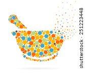 abstract creative concept... | Shutterstock .eps vector #251223448