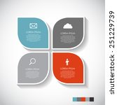 infographic templates for...   Shutterstock .eps vector #251229739