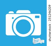 photo camera icon   vector...