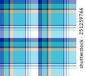 seamless madras plaid pattern   Shutterstock .eps vector #251259766