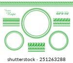 vector template design elements.... | Shutterstock .eps vector #251263288