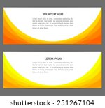 templates for flyers | Shutterstock .eps vector #251267104