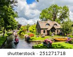 Giethoorn  Netherlands   Augus...