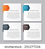 infographic design elements for ...   Shutterstock .eps vector #251277226