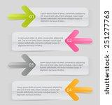 business infographics tabs... | Shutterstock .eps vector #251277763