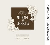 Marriage Design Template With...