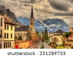 view of cathedral of st. florin ... | Shutterstock . vector #251289733