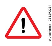 warning vector sign | Shutterstock .eps vector #251293294