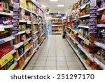 london   jan 29  a view of an... | Shutterstock . vector #251297170