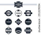 premium badge   vintage style...   Shutterstock .eps vector #251329054