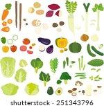 vegetable.cutting | Shutterstock .eps vector #251343796