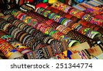 colored thread bracelets | Shutterstock . vector #251344774